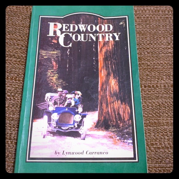 Redwood Country paperback book